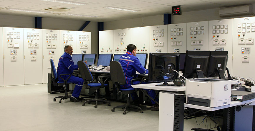 power plants data analysis tool
